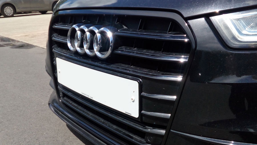 Audi A6 black edition trim wrap
