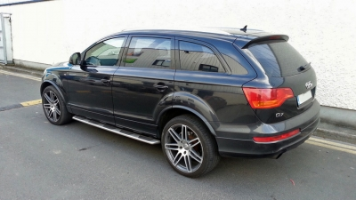 Audi Q7 chrome delete