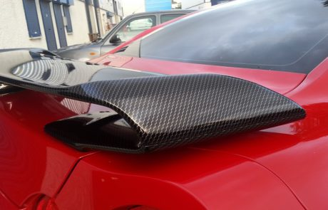 2D gloss carbon fiber