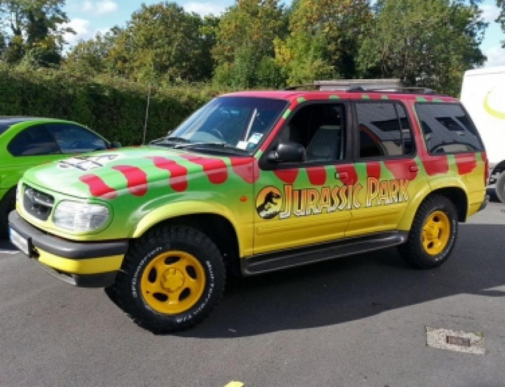 Jurassic Park graphics replica