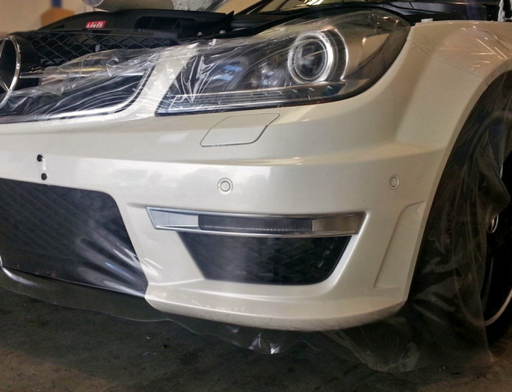 Mercedes C63 paint protection