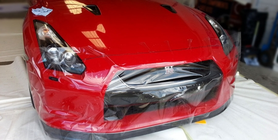 Nissan Skyline GTR paint protection 03
