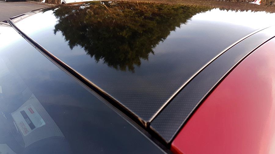 Maserati carbon fiber roof